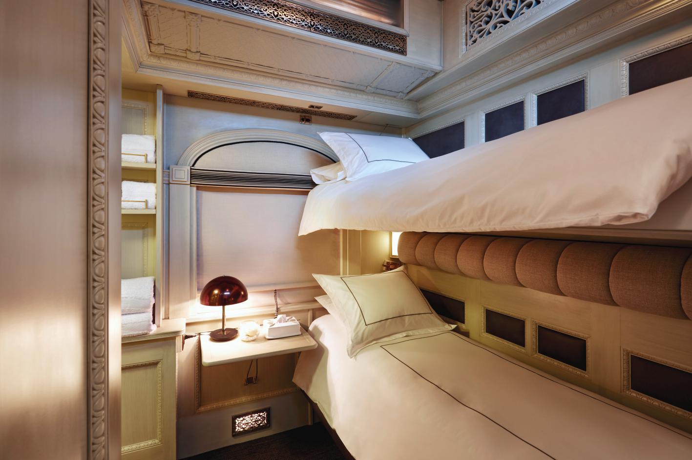 Belmond Andean Explorer - Cabina Bunk Bed Notte