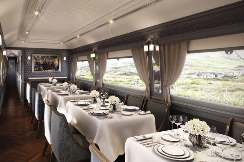 Belmond Grand Hibernian - vagone ristorante