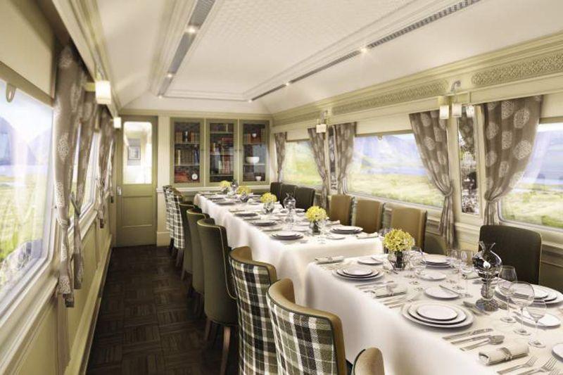 Belmond Grand Hibernian - vagone ristorante Wexford