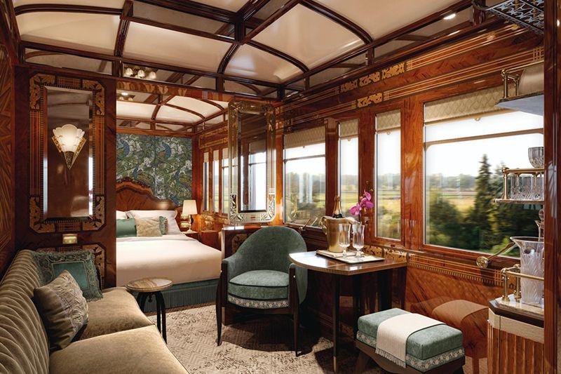Venice Simplon Orient Express - cabina suite