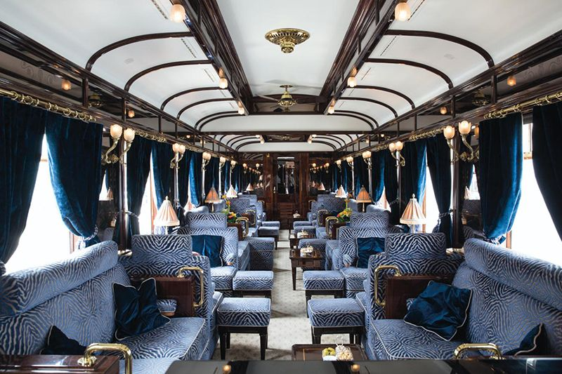 Venice Simplon Orient Express - Vagone Lounge Bar
