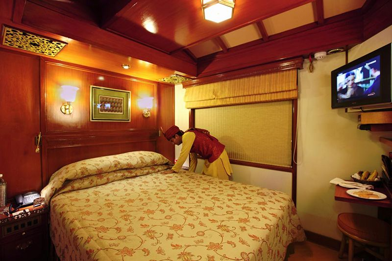 Maharajas Express Luxury Train India - cabina Deluxe
