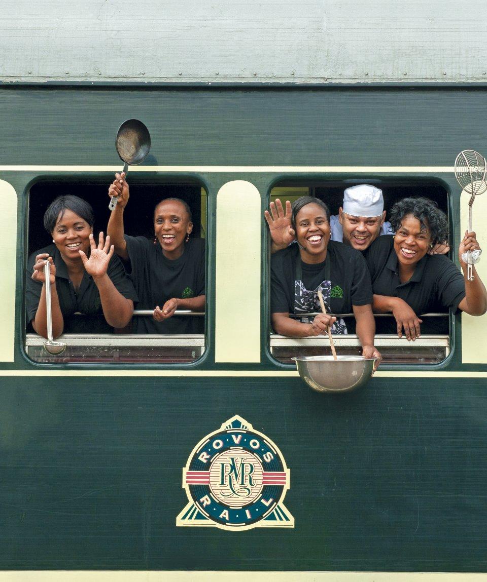 Rovos Rail_kitchen staff