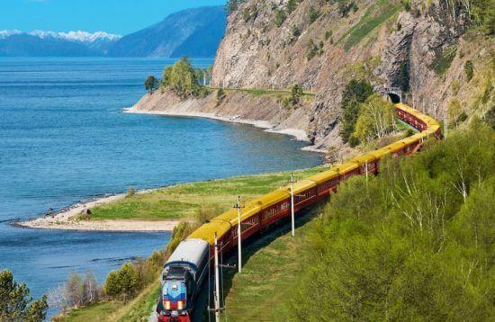 Imperial Russia Treno Transiberiana - lago Baikal