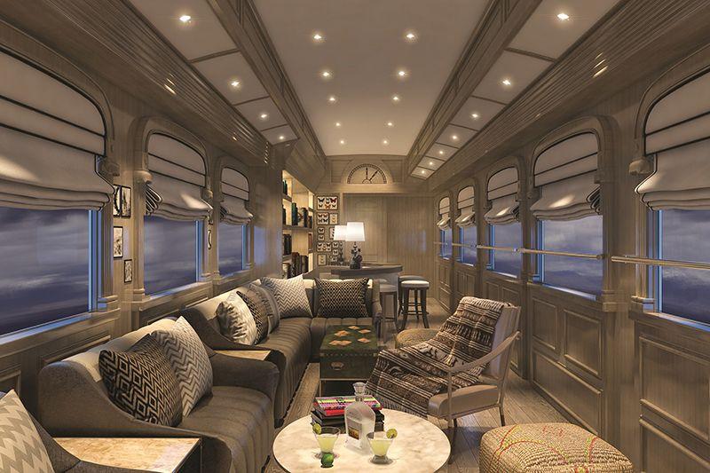 Vacanze in treni di lusso in per viaggio sul belmond for Cabine al lago shadd