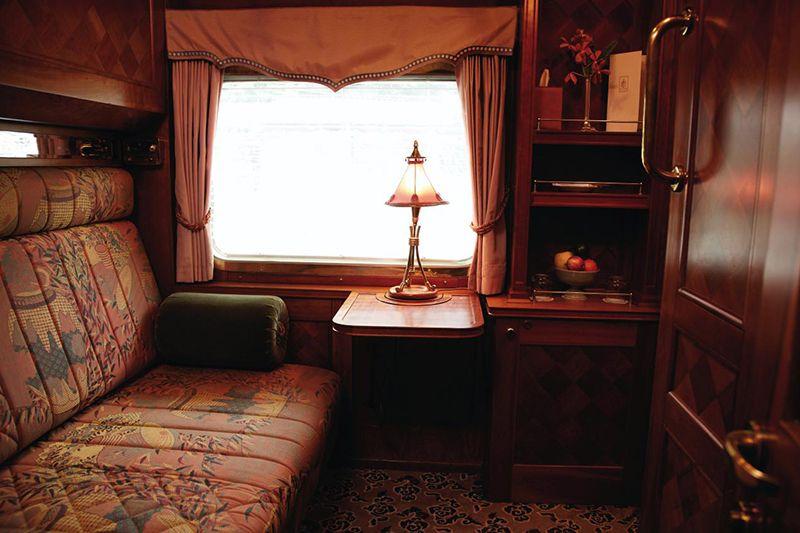 Belmond Eastern Oriental Express - cabina Pullman
