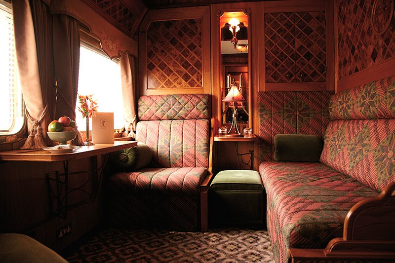 Belmond Eastern Oriental Express - cabina State