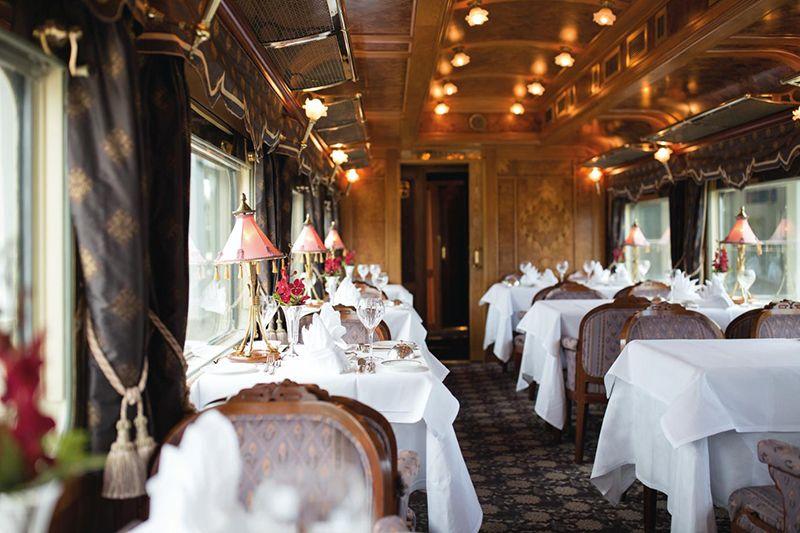 Belmond Eastern Oriental Express - vagone ristorante