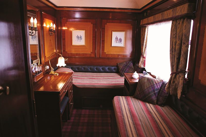 Belmond Royal Scotsman - cabina Twin