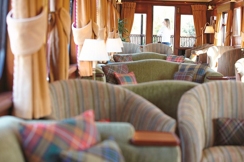 Belmond Royal Scotsman - Vagone Panoramico