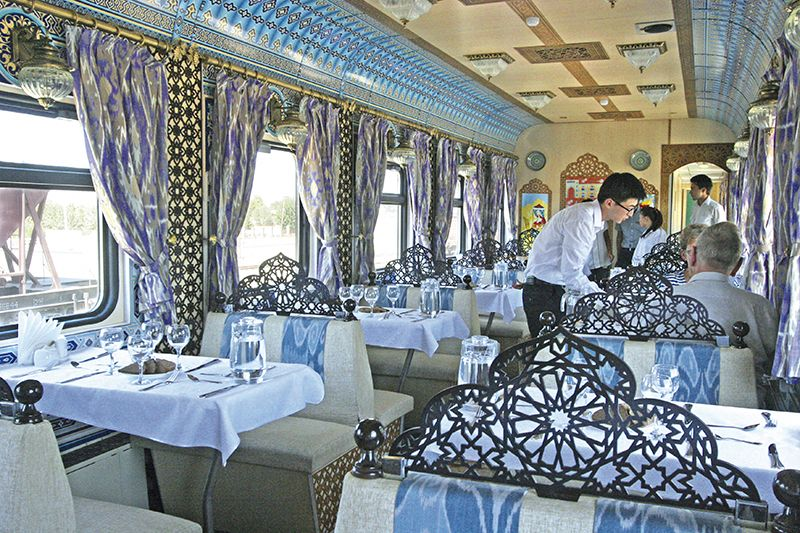 Orient Silk Road Express - vagone Ristorante