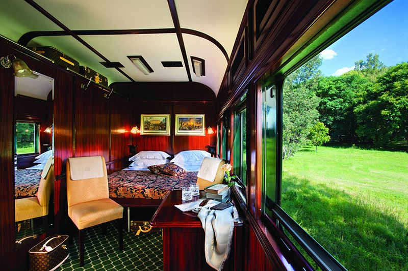 Rovos Luxury Train Africa - cabina Deluxe