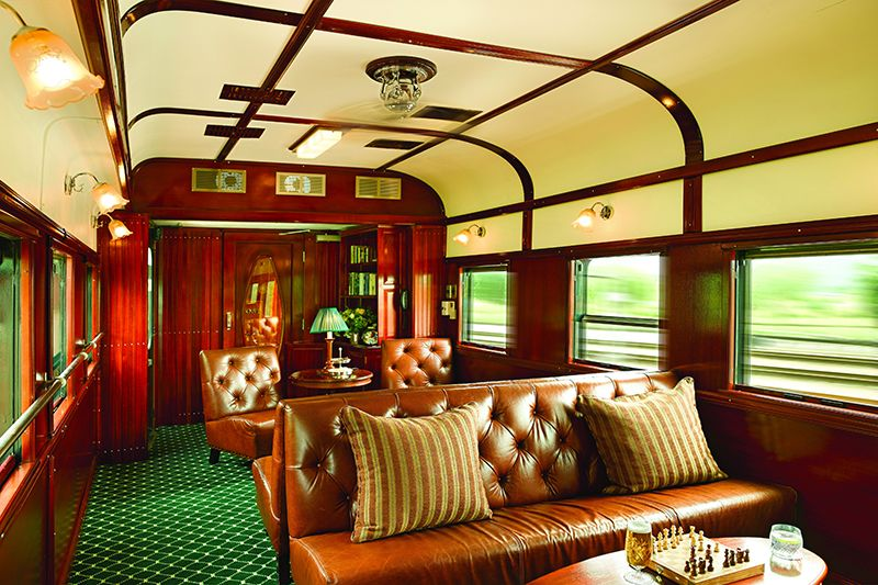 Rovos Luxury Train Africa - Vagone Club Lounge