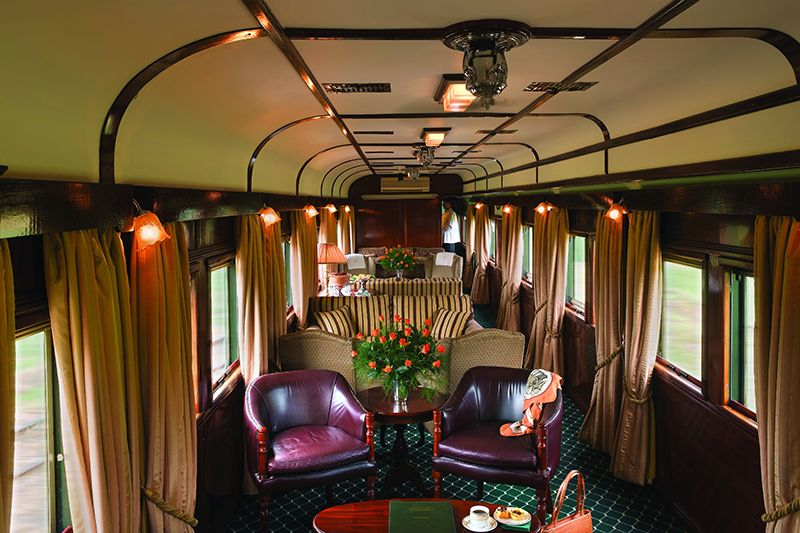 Rovos Luxury Train Africa - Vagone Lounge
