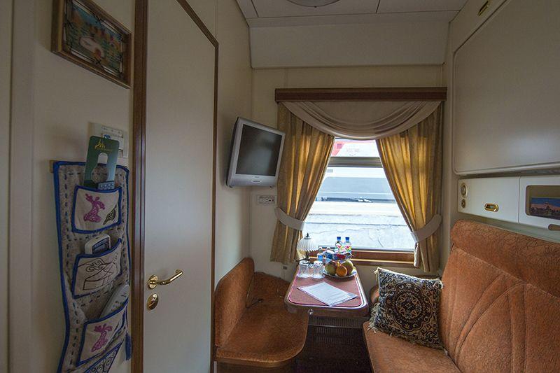 Tsar's Gold Transiberiana Treno - cabina Bolshoi