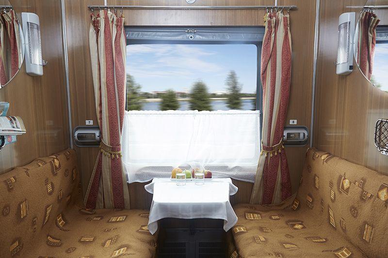 Tsar's Gold Transiberiana Treno - cabina Classic