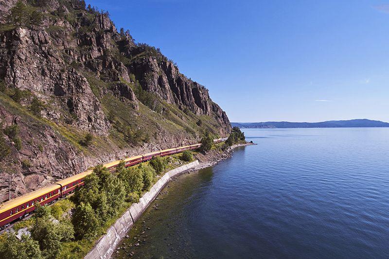 Tsar's Gold Transiberiana Treno - panoramica lago Baikal