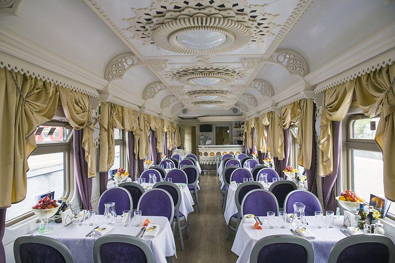 Tsar's Gold Transiberiana Treno - vagone Ristorante