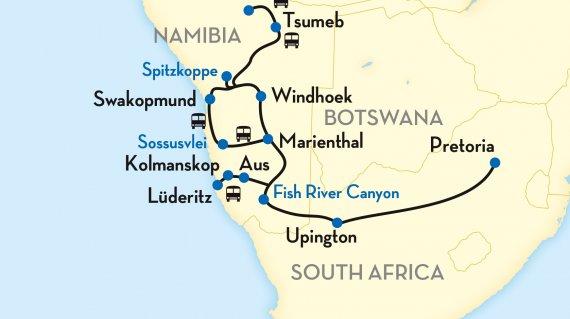 african-explorer-windhoek-pretoria-mappaitinerario