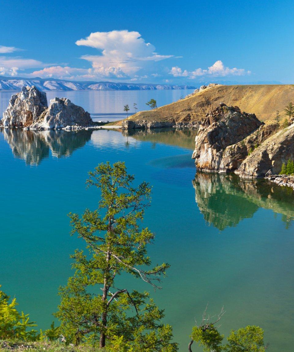 Байкал. Летний вечер на острове Ольхон