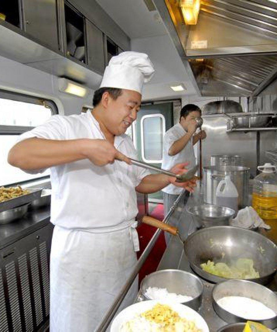 Shangri-La Express - cucina