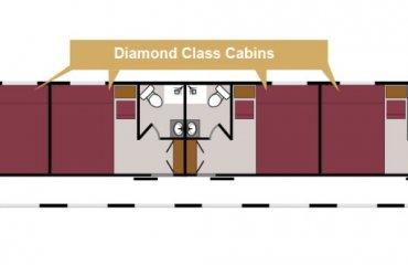 Mappa Vagone Diamond