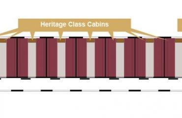 Mappa Vagone Heritage